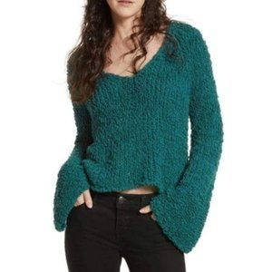 Free People Sand Dune Bell Sleeved Sweater